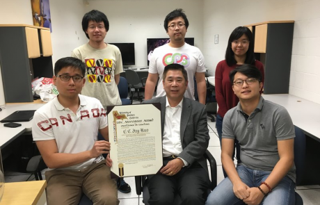 Congratulations to Prof. Kuo for receiving 2016 USC Associates Award of Excellence in Teaching