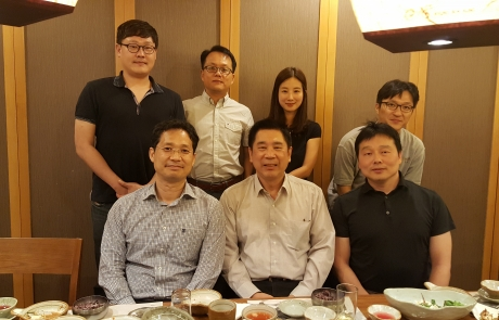 Professor Kuo visited Korea and attended two MCL alumni reunion events