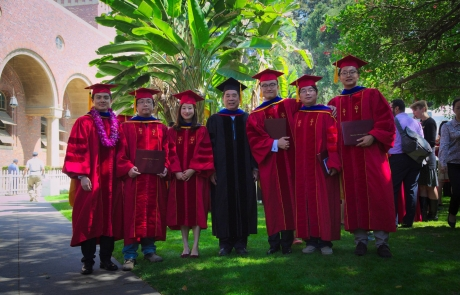 Seven MCL Members Attended Viterbi PhD Hooding Ceremony