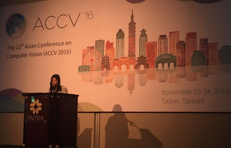 MCL Members Presented Papers at ACCV 2016