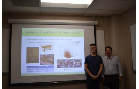 Congratulations to Hao Xu for Passing His PhD Defense