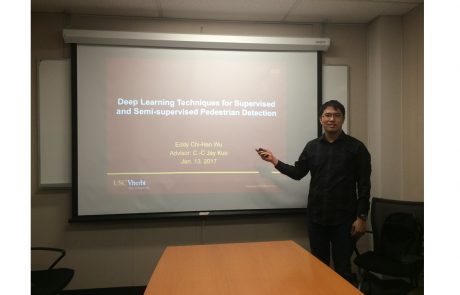 Congratulations to Eddy Wu for Passing His Qualifying Exam
