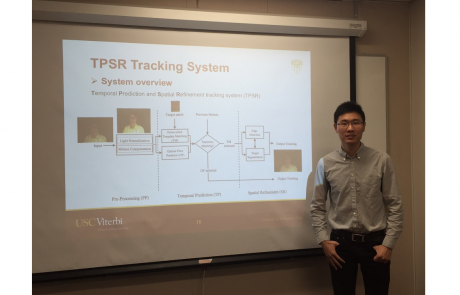 Congratulations to Weihao Gan for Passing His Qualifying Exam