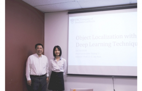 Congratulations to Siyang for Completing Her PhD Study at USC/MCL