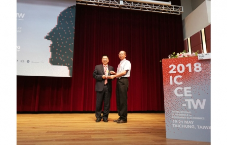 Professor Kuo Delivered Keynote at ICCE-TW 2018
