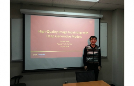 Congratulations to Yuhang Song for Passing His Qualifying Exam