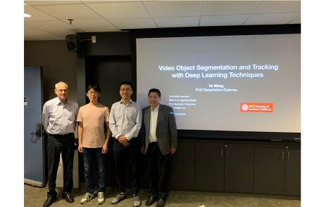 Congratulations to Ye Wang for Passing His PhD Defense