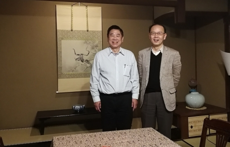 Professor Kuo Delivered Invited Lecture at Kyoto University